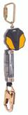 MSA Safety Part#  10157841, Workman Mini PFL, 6 feet single-leg, with 36C snaphook, Yellow/Black