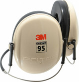 3M Peltor H6B/V Optime 95 Low Profile Behind the Head Earmuffs, NRR 21dB