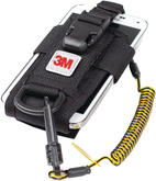 3M DBI Sala Python Safety Adjustable Radio Holster with Clip2Loop Coil and Micro D-Ring, Mfg# 1500089