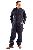 Occunomix G904N Nomex® Flame Resistant Coverall HRC 1, 4.5 oz Lightweight, Navy