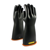 "PIP Novax® 16"" Class 2 Straight Black/Orange Electricians Glove, Mfg# 155-2-16"