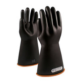 "PIP Novax® 16"" Class 1 Straight Black/Orange Electricians Glove, Mfg# 155-1-16"