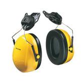 3M™ Peltor™ Optime™ 98 Low Profile Yellow Cap Mount Muffs, NRR 23dB | Mfg# H9P3E