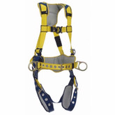DBI SALA® Delta™ Comfort Construction Positioning Harness, Back and Side D-Rings, Belt with Pad