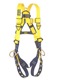 DBI Sala® Delta™ Vest Style Full Body Harness, Back and Side D-Rings, Universal Size, Mfg# 1102008