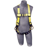DBI Sala® Delta™ Vest Style Full Body Harness, Back and Side D-Rings, Mfg# 1102008