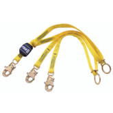 DBI Sala EZ-STOP® 100% Tie-Off Lanyards w/Floating D-Ring | Mfg#1246070