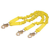 DBI Sala ShockWave 2 100% Tie Off Lanyard, Self Locking Hooks, Mfg# 1244406