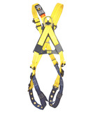 DBI Sala® Delta Cross-Over Harness, Back and Front D-rings, Tongue Buckle Leg Straps, Universal Size, Mfg# 1102950