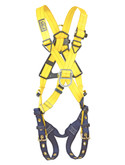 3M DBI Sala® 1102950 Delta Cross-Over Style Climbing Harness, Back and Front D-rings, Tongue Buckle Leg Straps, Universal Size