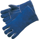 Durawear Premium Blue Leather Welders Glove, Kevlar Sewn, 1 Pair, Part No. 10-5095