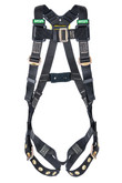 MSA Workman® Arc Flash Full Body Harness, Tongue Buckle Legs Straps, XLARGE Size, Mfg# 10152634