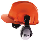 MSA EXC™ Cap Mount Earmuffs for Hard Hats, NRR 24  | Mfg# 10061230