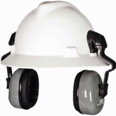 MSA Sound Control SH Earmuff for Slotted Full Brim Hat | Mfg# 10129327