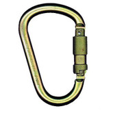 "MSA Steel Carabiner, 1"" Auto-locking Gate 