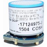 MX6 IBRID Carbon Monoxide / Hydrogen Sulfide Combo Sensor 17124975-J