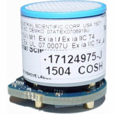 Industrial Scientific 17124975-J MX6 iBrid Carbon Monoxide / Hydrogen Sulfide Combo Sensor