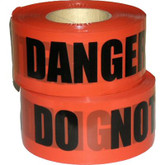 "Barricade Tape, Danger Do Not Enter-Tape, 2.4 mil Thickness, 3""x1000 Ft. # DDNE-2"