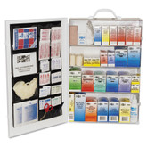 Pac-Kit Safety 150 Person 4 Shelf First Aid Steel Cabinet