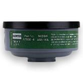 North Safety N75004L   Ammonia & Methylamine Respirator Cartridge