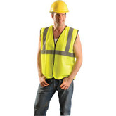 OccuNomix Safety Vest, Class 2, Hi-Viz Yellow | Mfg # ECO-GC