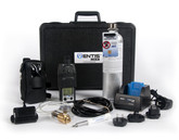 Ventis MX4 Confined Space Kit, Black Overmold,  4-Gas Detector, LEL, O2, CO, H2S, Industrial Scientific VK-K1232110111