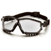 Pyramex V2G Clear Goggles, Anti-fog Lens, Foam Lined | Mfg# GB1810ST