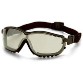 Pyramex V2G Safety Google, Indoor/Outdoor Mirrored Anti-Fog Lens | Mfg# GB1880ST