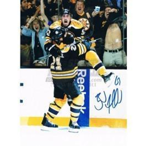 Brad Marchand Boston Bruins Autographed Stanley Cup Leap 8x10 photo d0f530c5a