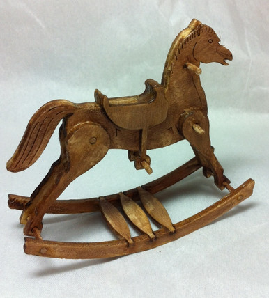 Grandpa S Doll House Rocking Horse Kit