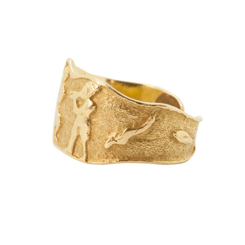 Second Hand 18ct Gold Dancer Toe Ring