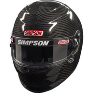 SIMPSON CARBON VENATOR PRO HELMET SNELL SA2015 XS-XXL M6 MSA HANS