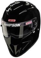 SIMPSON DIAMONDBACK HELMET SNELL SA2015 GLOSS BLACK XS-XXL MSA M6 HANS FIA