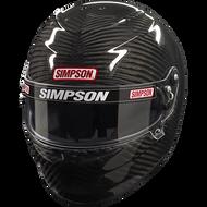 SIMPSON CARBON VENATOR PRO HELMET SNELL SA2015