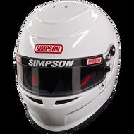 SIMPSON VENATOR HELMET SNELL SA2015 HANS M6 MSA XS-XXL WHITE