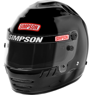 SIMPSON JR SPEEDWAY SHARK HELMET SNELL SA2015 (SFI 24.1 RATED)