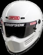SIMPSON SUPER BANDIT HELMET SNELL SA2015 WHITE