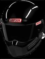 SIMPSON SUPER BANDIT HELMET SNELL SA2015 GLOSS BLACK