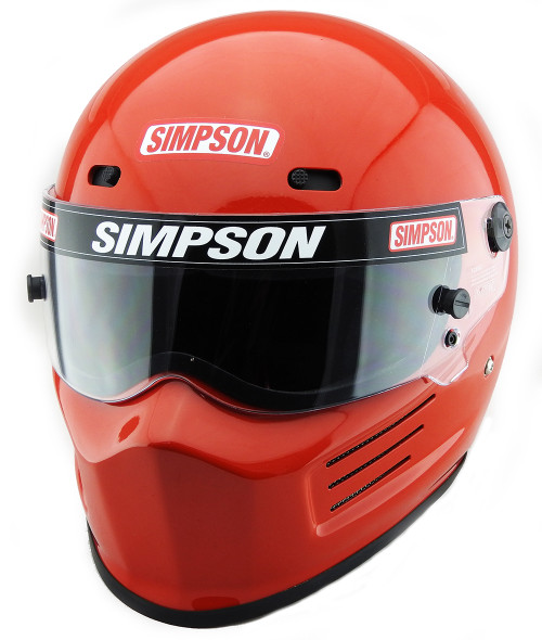 82a74aa3 SIMPSON SUPER BANDIT HELMET SNELL SA2015 RED - Simpson Racing UK