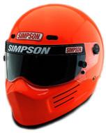 SIMPSON SUPER BANDIT HELMET SNELL SA2015 SAFETY ORANGE