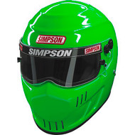 SIMPSON SPEEDWAY RX HELMET SNELL SA2015 MSA HANS M6 XS-XXL GREEN