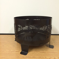 "Ring Fire Pit 24"" With Base"