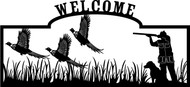 Flying Phesants Welcome Sign