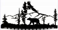 Walking Bear Crosscut Saw
