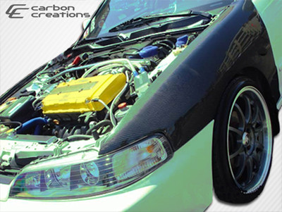 Acura Integra OEM Carbon Fiber Creations Body Kit- Fenders 1994-2001