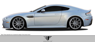 Aston Martin Vantage AF-1 Aero Function Side Skirts Body Kit 2006-2015