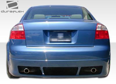 Audi A4 4DR R-1 Duraflex Rear Body Kit Bumper 2002-2005