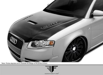 Audi A4 AF-1 Aero Function (CFP) Body Kit- Hood 2006-2008