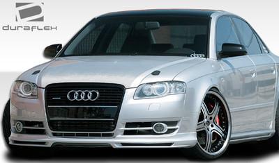 Audi A4 A-Tech Duraflex Front Bumper Lip Body Kit 2006-2008