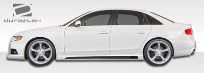 Audi A4 R-1 Urethane Side Skirts Body Kit 2009-2015